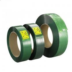 Feuillard polyester rigide vert