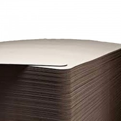 Plaque carton et papier anti glisse