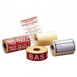 Étiquette adhésive